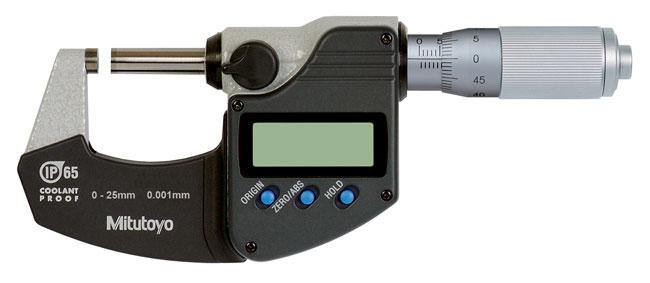 Mitutoyo 293-235 Micrometer 25-50mm Range .001mm SPC Output